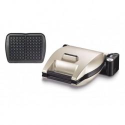 Lagrange Gaufrier Premium Argent 1200W 019152