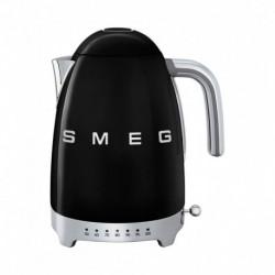 Smeg Bouilloire Température Réglable Noir 2400W 1,7L KLF04BLEU