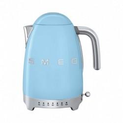 Smeg Bouilloire Température Réglable Bleu Azur 2400W 1,7L KLF04PBEU