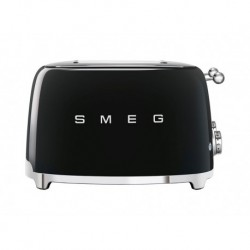 Smeg Grille-Pain Noir 2000W 4 Tranches TSF03BLEU