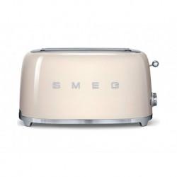 Smeg Grille-Pain Crème 1500W 4 Tranches TSF02CREU