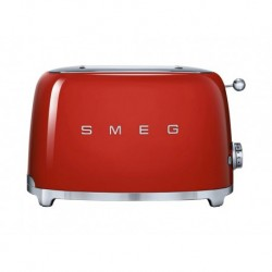 Smeg Grille-Pain Rouge 950W 2 Tranches TSF01RDEU