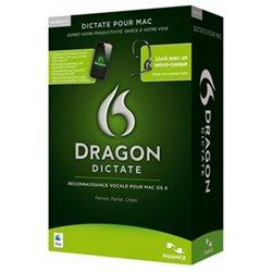 Dragon Dictate 2.5 (reconnaissance vocale pour Mac OS X)