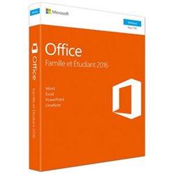 Microsoft Office 2016 pour Windows Edition Famille et Étudiant