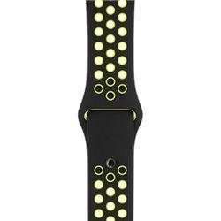Apple Bracelet Sport Nike Noir/Volt 38mm (S/M et M/L) MQ2H2 (late 2017)