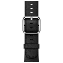 Apple Bracelet boucle classique noir 38mm MPW92