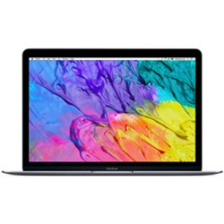 """Apple MacBook Intel Core m5 1,2GHz 8Go/512Go 12"""" Gris sidéral MLH82 (early 2016)"""