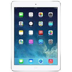Apple iPad Air Retina 128Go Wi-Fi (blanc argenté) ME906 (late 2013)