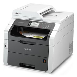 Brother Imprimante Laser Couleur Multifonction MFC-9340CDW