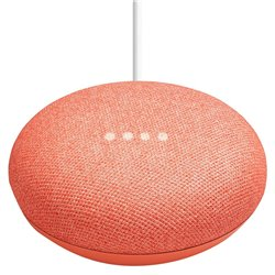 Assistant vocal Google Home Mini Corail