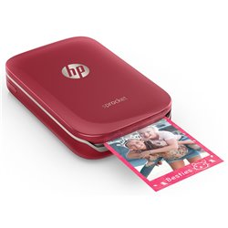 Imprimante HP Sprocket Photo Rouge
