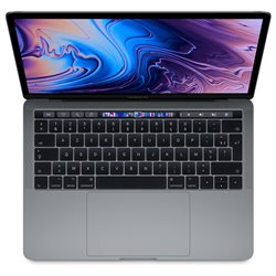 "Apple MacBook Pro i5 2,4Ghz 8Go/256Go 13"" Touch Gris sidéral MV962 (mid 2019)"