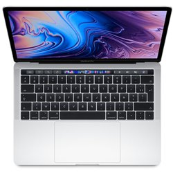 """Apple MacBook Pro Quad i5 1,4Ghz 8Go/128Go 13"""" Touch Argent MUHQ2 (mid 2019)"""