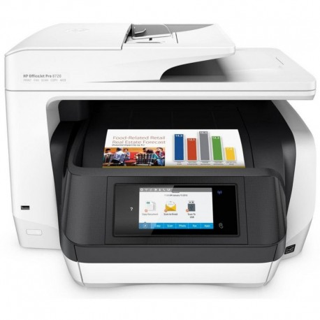 HP Imprimante Multifonction HP Officejet Pro 8720 D9L19A-A80 8730