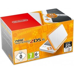 Nintendo Console New 2DS XL Blanc + Orange