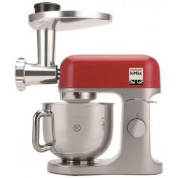 Kenwood Robot Pâtissier KMX855RD kMix Rouge 1000W 5L + Hachoir KAX962ME