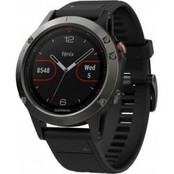 Garmin Montre Fénix 5 Premium Multisport GPS Gris/Noir 010-01688-11
