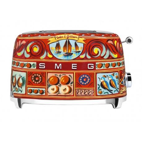 Smeg Dolce Gabbana Grille-Pain 950W 2 Tranches TSF01SSEU
