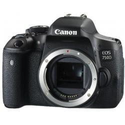Canon Appareil photo reflex Canon EOS 750D (boitier nu)