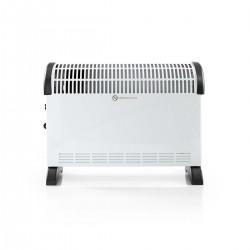 Nedis Radiateur Convecteur 750/1 250/2 000 W Blanc