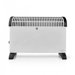 Nedis Radiateur Convecteur Thermostat Fonction Ventilateur 3 Réglages 2 000 W Blanc
