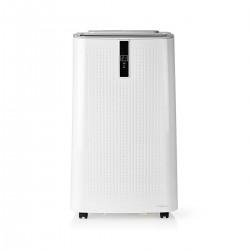 Nedis Système de Climatisation Mobile 12 000 BTU Classe Énergétique A Télécommande Fonction Minuterie