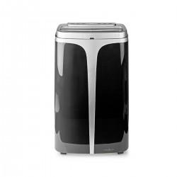 Nedis Système de climatisation mobile 12 000 BTU Classe d'énergie A Télécommande Fonction minuterie Noir