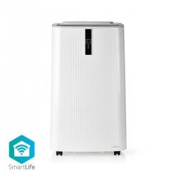 Nedis Système de climatisation SmartLife 9 000 BTU Jusqu'à 60m³ Wi-Fi Android et iOS Classe Énergétique A