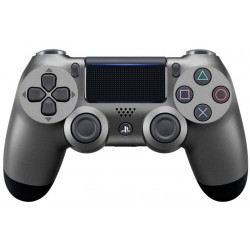 Sony Manette Dualshock 4 Steel Black Pour PS4
