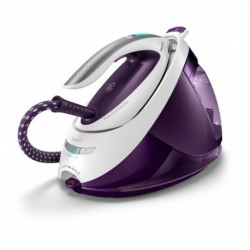 Philips Centrale Vapeur Perfect Care Elite Blanc et Violet GC9666/30