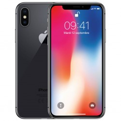Apple iPhone X 256Go Gris sideral MQAF2 (late 2017)
