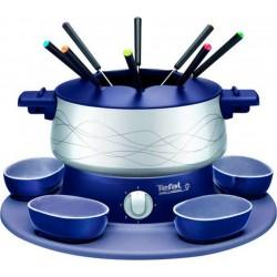 Tefal Fondue Simply Invents Indigo Bleu Gris 800W 8 Personnes EF351412