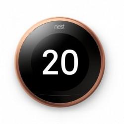 Nest Thermostat Connecté Learning 3ème Génération Cuivre