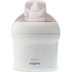 Magimix Sorbetière Glacier 15W 1,5L Blanc 11667