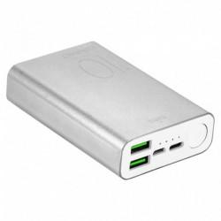 Puro Batterie Externe Siver 1000 mAh 2 USBA + 1 USBC