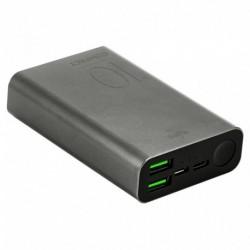 Puro Batterie Externe Gris Sidéral 10000 mAh 2 USbA + 1 USBC