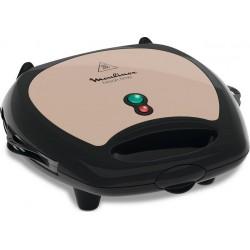 Moulinex Breaktime Gaufrier Pancakes Beige Noir 700W SJ616A12