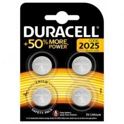 Duracell 4 piles 3V lithium 2025 (lot de 2)