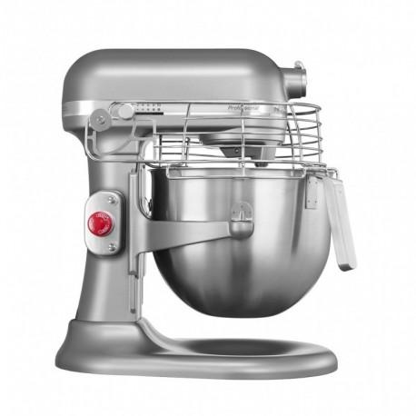 KitchenAid Robot Pâtissier Professionnel Argent Platine 325W 6,9L 5KSM7990XESM