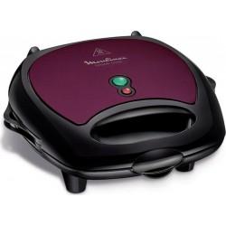 Moulinex Breaktime Gaufrier Pancakes Violet Noir 700W SJ616A12
