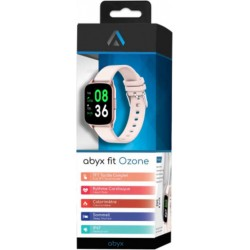 ABYX Montre connectée -FIT-OZONE2-RDP