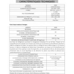 EDER Climatiseur monobloc JJ 10 CLM 25