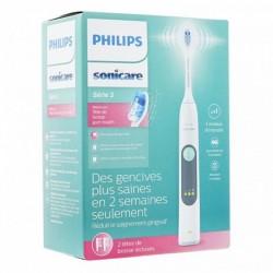 Philips Brosse à Dents Électrique Sonicare Série 3 Gris Blanc HX6612/26