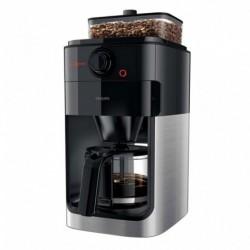 Philips Grind & Brew Cafetière Métal Noir 1000W DH7767/00