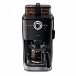 Philips Grind & Brew Cafetière Métal Noir 1000W HD7769/00