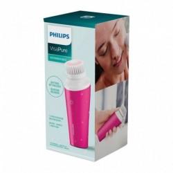 Philips VisaPure Mini Brosse Nettoyante pour le Visage Fushia BSC111/08