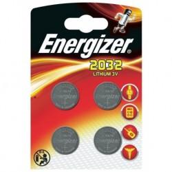 Energizer 4 piles boutons lithium 3V CR 2032 (lot de 2)