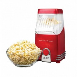 Simeo Machine à Pop-Corn Rétro 1100W FC160