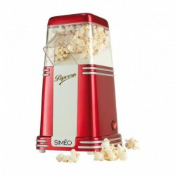 Simeo Machine à Pop-Corn Rétro 1100W FC125
