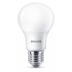 Philips ampoule LED standard à intensité variable E27 8,5W (60W) 2700K blanc chaud (lot de 2)